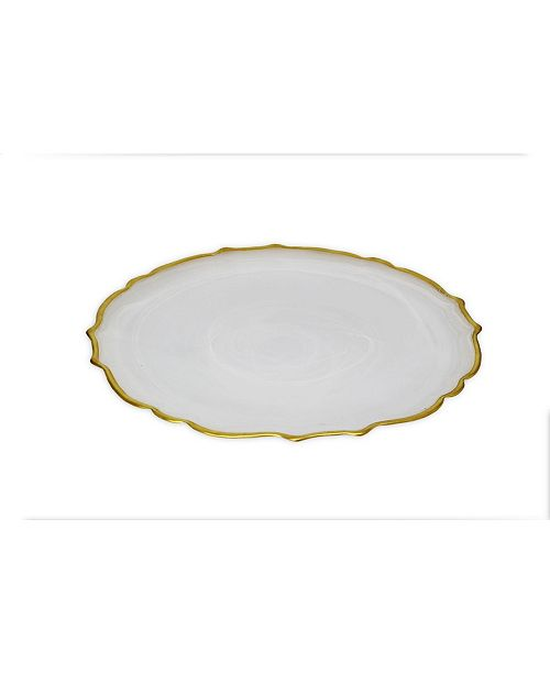 Classic Touch Set of 4 Plates