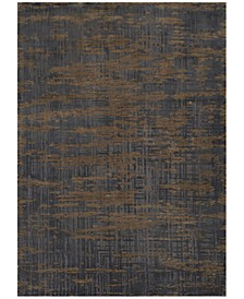 Tryst Mykonos Anthracite 2' x 3' Area Rug