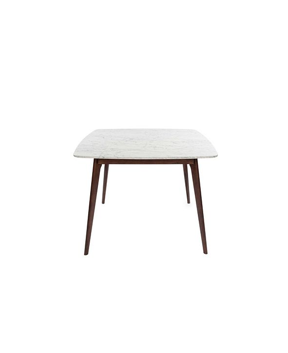 Cenports Senna Square Marble Dining Table