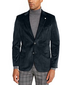 Men's Modern-Fit Velvet Sport Coat