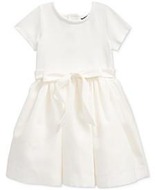 Little Girls Stretch Interlock Dress