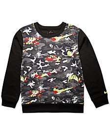 Toddler Boys Camo-Print Sweatshirt