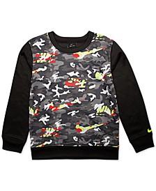Toddler Boys Camo-Print Sweatshirt