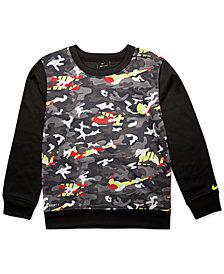 Nike Little Boys Camo-Print Sweatshirt