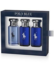 Ralph Lauren Men's 3-Pc. Polo Blue Eau de Toilette Travel Set