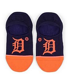 Women's Detroit Tigers Invisible No Show Socks
