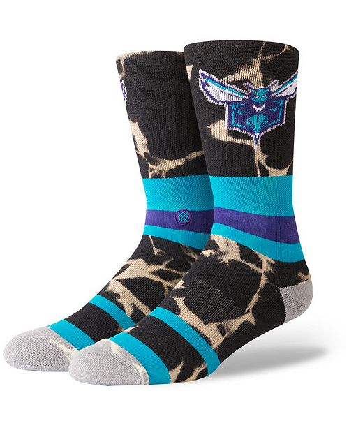 Stance Charlotte Hornets Acid Wash Crew Socks