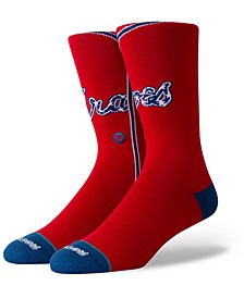 Atlanta Braves Alternate Jersey Series Crew Socks