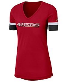 Women's San Francisco 49ers Dri-FIT Fan Top