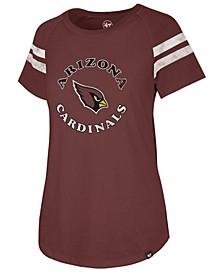 Women's Arizona Cardinals Flyout Raglan T-Shirt