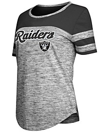 Women's Oakland Raiders Space Dye T-Shirt