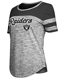 5th & Ocean Women's Oakland Raiders Space Dye T-Shirt
