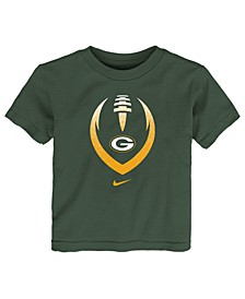Little Boys Green Bay Packers Football Icon T-Shirt
