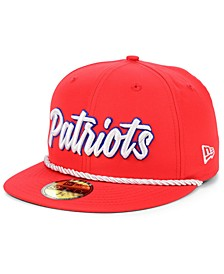 New England Patriots On-Field Sideline Home 59FIFTY Fitted Cap