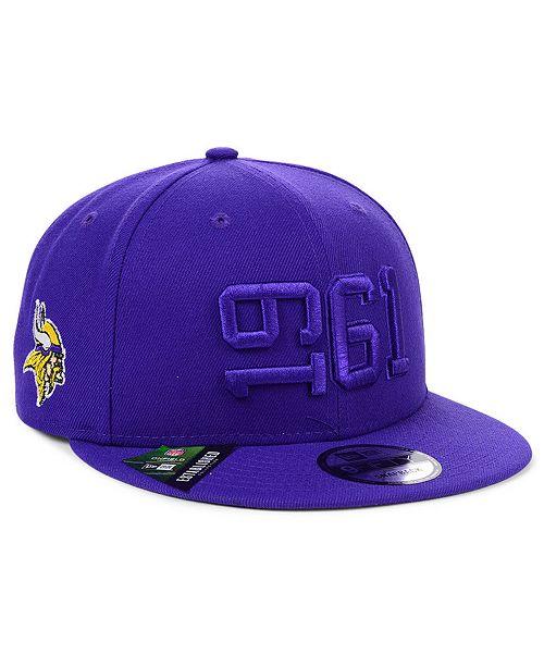 New Era Minnesota Vikings On-Field Alt Collection 9FIFTY Snapback Cap