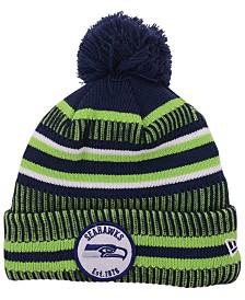 New Era Seattle Seahawks Home Sport Knit Hat