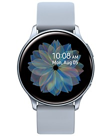 Galaxy Active 2 Gray Silicone Strap Touchscreen Smart Watch 40mm