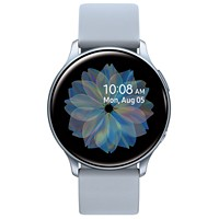 Deals on Samsung Galaxy Active 2 Gray Silicone Strap Smart Watch 40mm