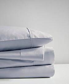 600 Thread Count Queen 4-Piece Cooling Cotton Sheet Set