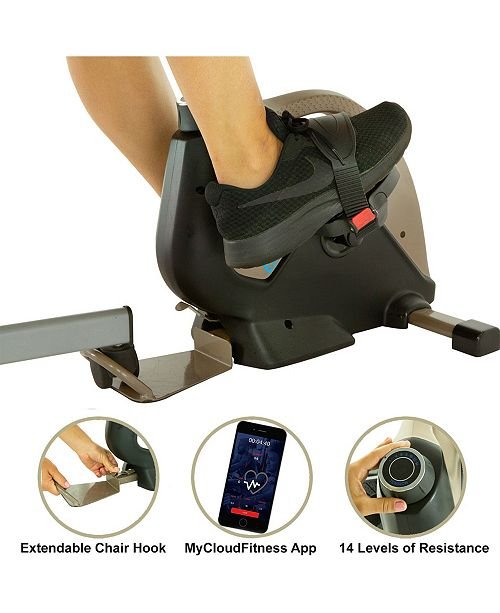 Exerpeutic 900 Exerwork Bluetooth Under Desk Exercise Bike