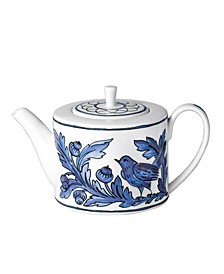 Blue Bird Tea Pot