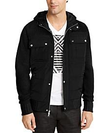 INC Men's Ritzio Sweater Jacket, Created For Macy's