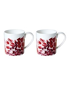 Petals Mugs - Set of 2