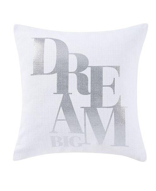 "Sean John CLOSEOUT! Dream Big 18"" Square Decorative Pillow"