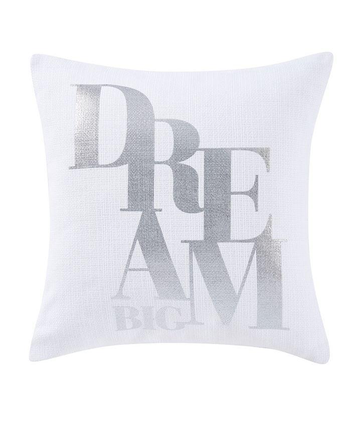 Sean John - Dream Big 18 Square Decorative Pillow
