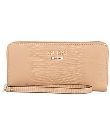 Maxxe Large Zip-Around Wallet