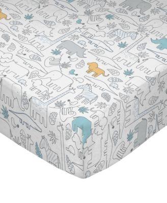 Safari Crib Sheet