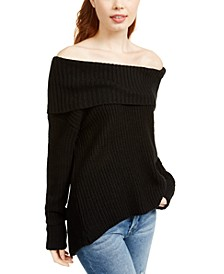 Juniors' Cowlneck Sweater, Created For Macy's