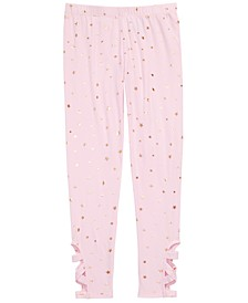 Big Girls Star-Print Cage Leggings, Created For Macy's