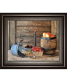 """Fruit of The Spirit by Billy Jacobs Framed Print Wall Art - 22"""" x 26"""""""