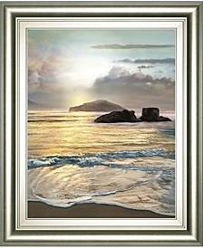 """Passing by Mike Calascibetta Framed Print Wall Art - 22"""" x 26"""""""