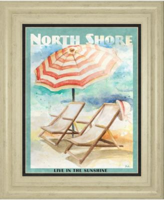 """Shore Poster Il by Patricia Pinto Framed Print Wall Art - 22"""" x 26"""""""