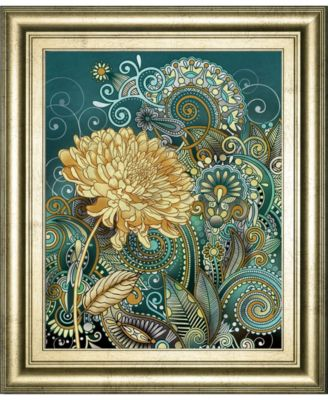 """Inspired Blooms 1 by Conrad Knutsen Framed Print Wall Art - 22"""" x 26"""""""