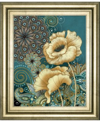 """Inspired Blooms 2 by Conrad Knutsen Framed Print Wall Art - 22"""" x 26"""""""