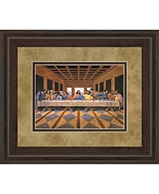 "Last Supper African, American Framed Print Wall Art - 34"" x 40"""