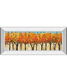 "Avenue by Mark Chandon Mirror Framed Print Wall Art - 18"" x 42"""