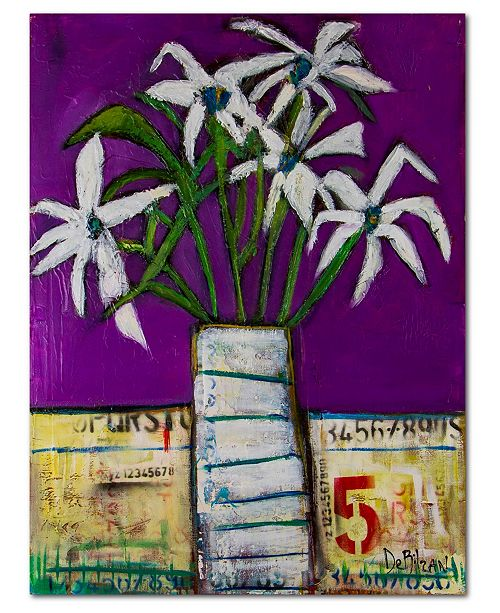 "Courtside Market Bouquet 15 Gallery-Wrapped Canvas Wall Art - 36"" x 48"""