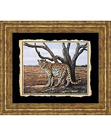 "Cheetah Framed Print Wall Art - 22"" x 26"""