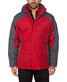 Men's Hooded 3 in 1 System Jacket
