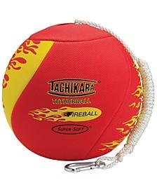 Fireball Textured Tetherball