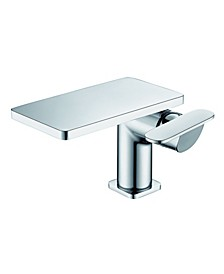Polished Chrome Single-Lever Bathroom Faucet
