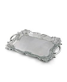 Designs Aluminum Fleur-De-Lis Rectangle Tray