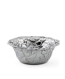 Designs Diameter Aluminum Grapevine Nut Bowl