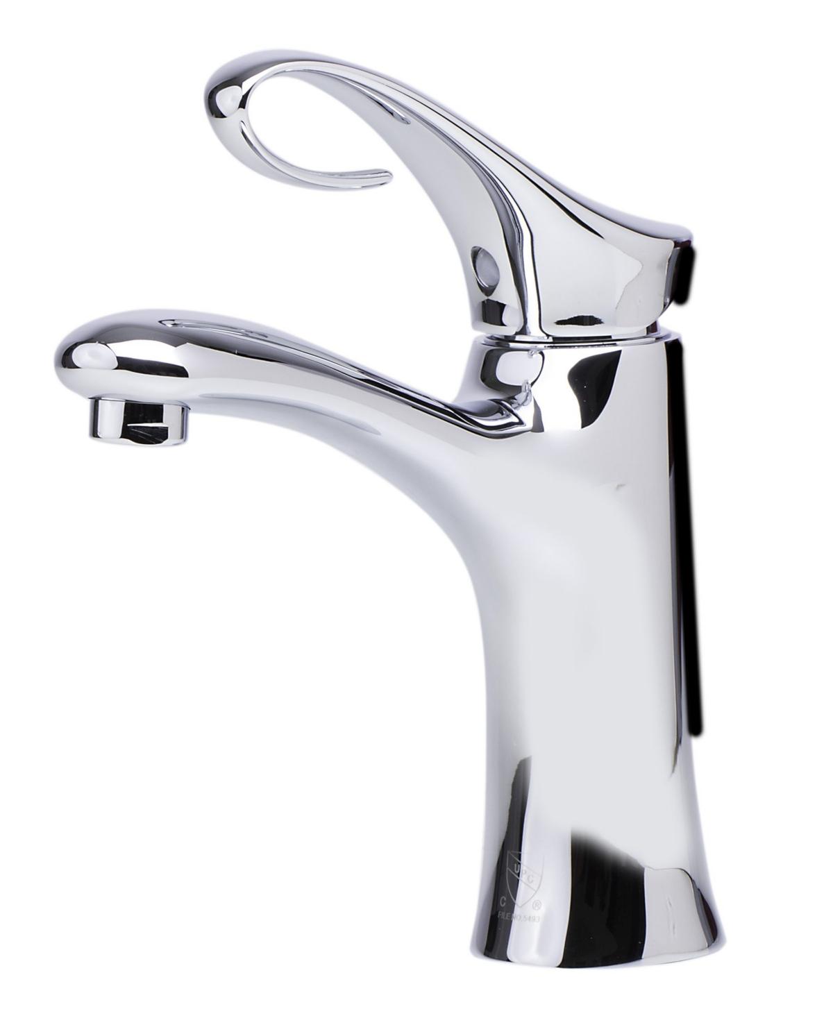 Alfi brand Polished Chrome Single Lever Bathroom Faucet Bedding