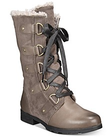 Women's Emelie Lace-Up Waterproof Boots