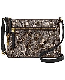Fiona Metallic Leather Crossbody